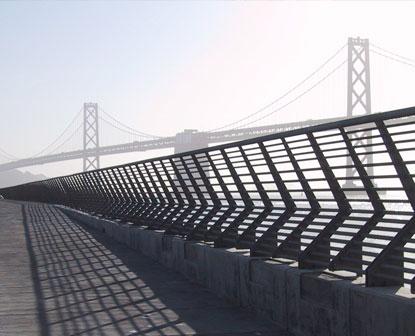 Pier 14 Railing: Railings & Gates