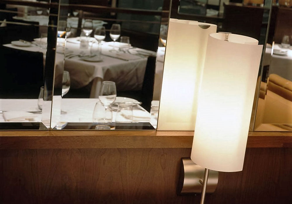 Spago: Light Fixtures