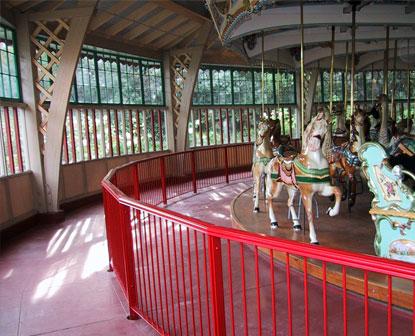 Rail At Zoo Carousel: Railings & Gates