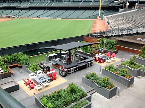 AT&T Park: Canopies & Awnings