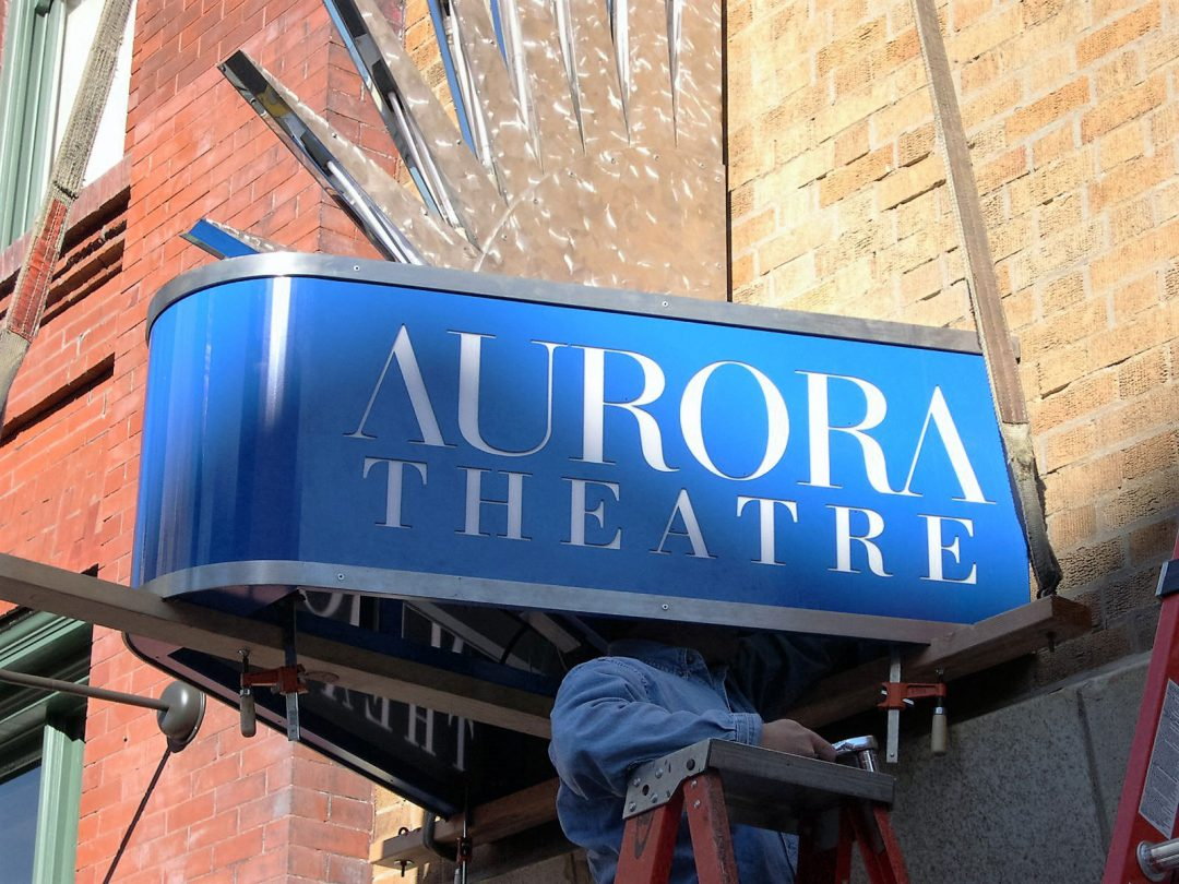 Aurora Theatre: Canopies & Awnings